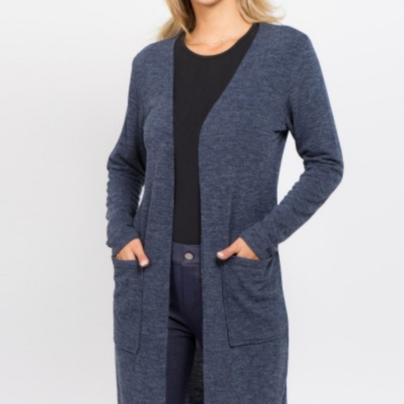 Old Navy Sweaters - OLD NAVY thin CARDIGAN blue
